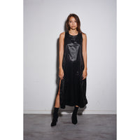 Nylon dress Black
