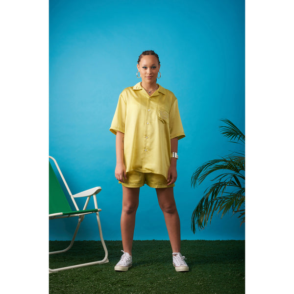 Vacation shirt Yellow