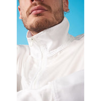 Let's talk business jacket White
