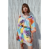 Vacation dress tie dye