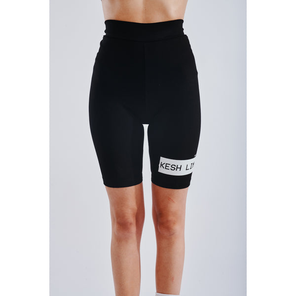 Winter short leggings black
