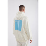 Blue box off white hoodie