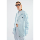 Fly wind breaker light turquoise