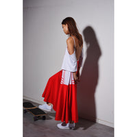 Science dress Red/white