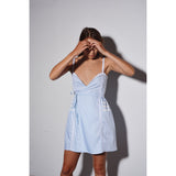 No stress dress Baby blue