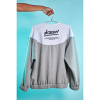 Flame sweatshirt Grey