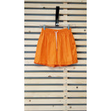 Nylon short shorts Orange