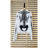 Skeleton top Black