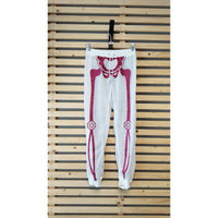 Skeleton pants Fuchsia