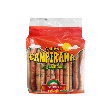 Long Sugar Cookie / Galleta Campirana 4-Pack