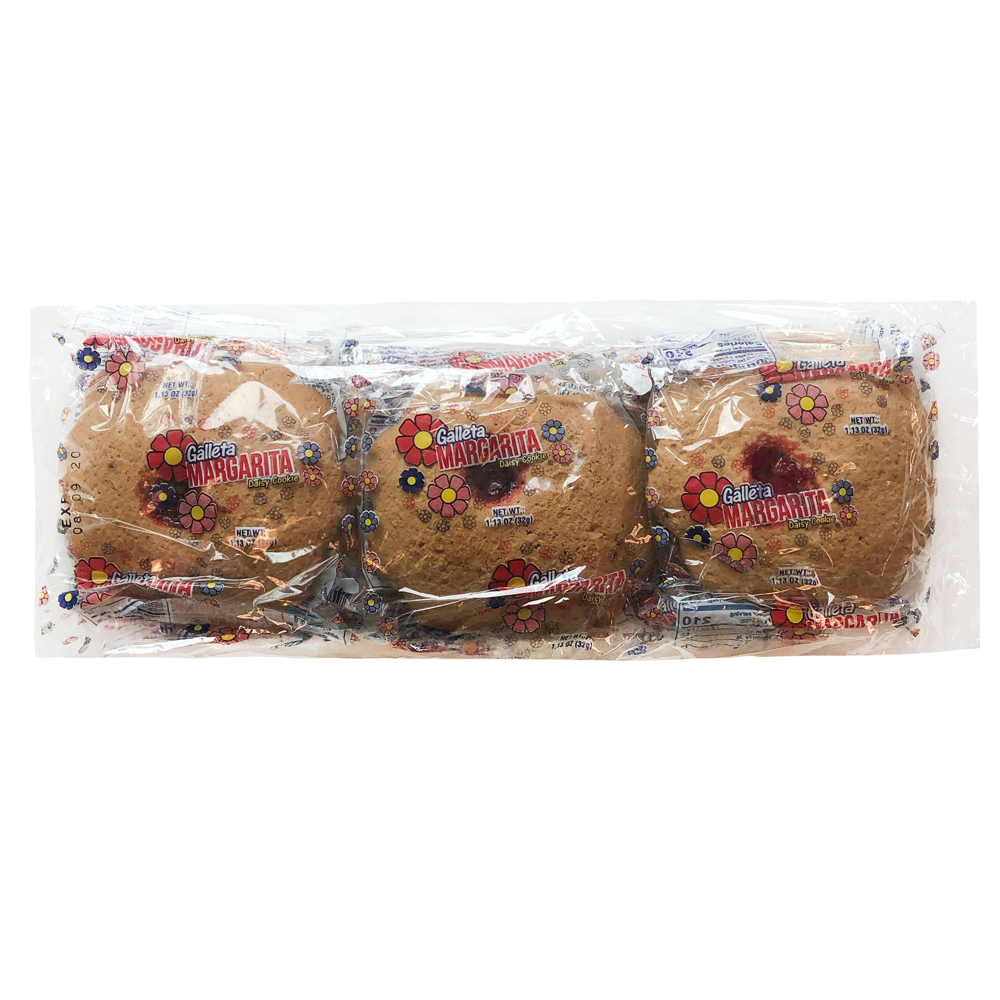 Galleta Margarita Daisy Cookie 16/6/2.77 oz / 7-Pack
