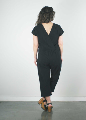 goa jumpsuit by pillar made in vancouver, short person jumpsuit petites