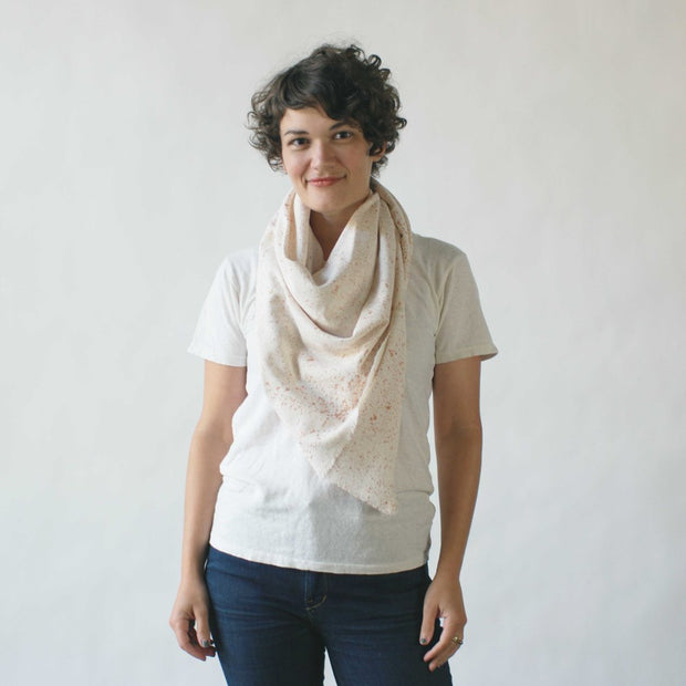 argaman & Defiance _ velouria _ blanket scarf _ white with rosegold speckles 2.jpg