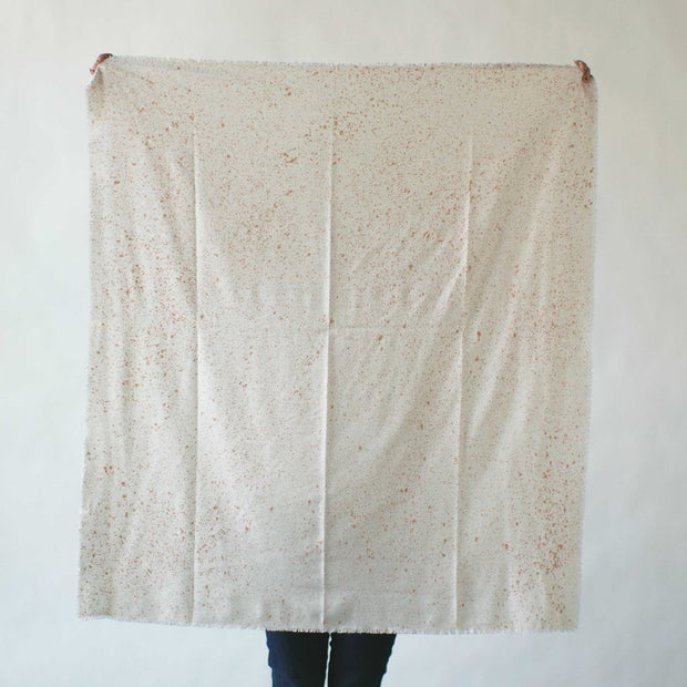 argaman & Defiance _ velouria _ blanket scarf _ white with rosegold speckles 1.jpg