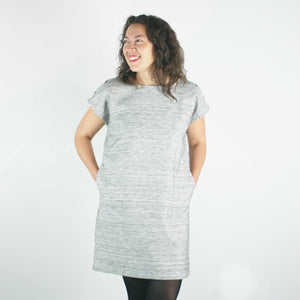 atelier b _ montreal _ velouria _ seattle _ straight cut dress _ grey marl .jpg