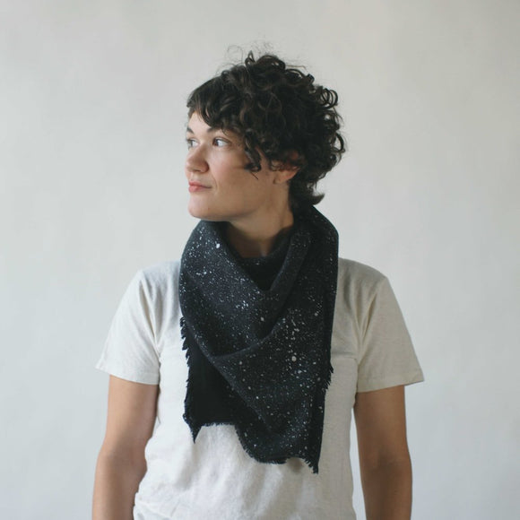 argaman & Defiance _ velouria _ blanket scarf _ black with silver speckles 4.jpg