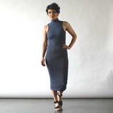nikibiki _ mock neck dress _ seattle _ velouria _ blue stripe 1.jpg