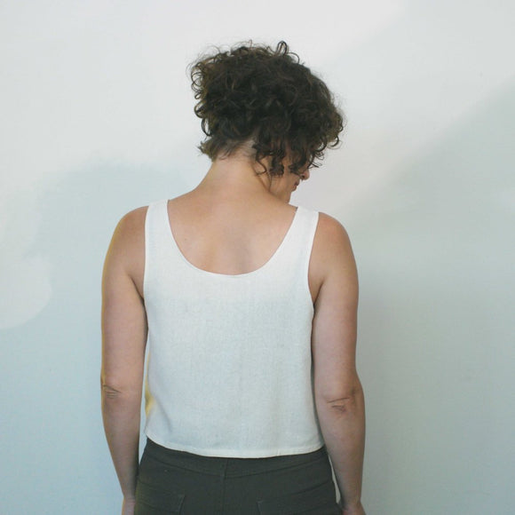 argaman and defiance _ raw silk _ cropped top _ pebble print _ handprinted _ velouria _ seattle _ 1.jpg