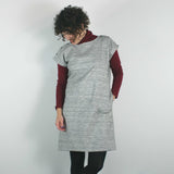 atelier b _ montreal _ velouria _ seattle _ straight cut dress _ grey marl 5.jpg