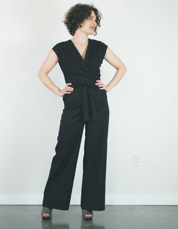 Cicely Jumpsuit in Black