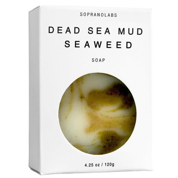 Vegan Soap, Dead Sea Mud Seaweed