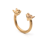 Double Cats Ring