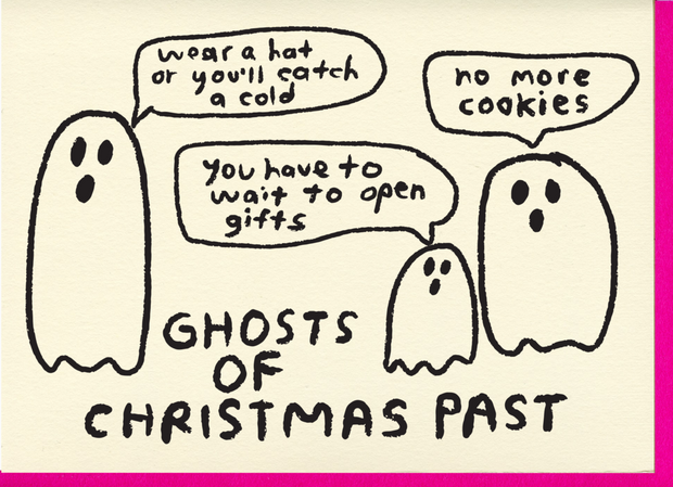 Card, Ghosts
