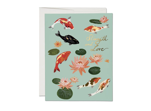 RC Card, Koi Fish Encouragement