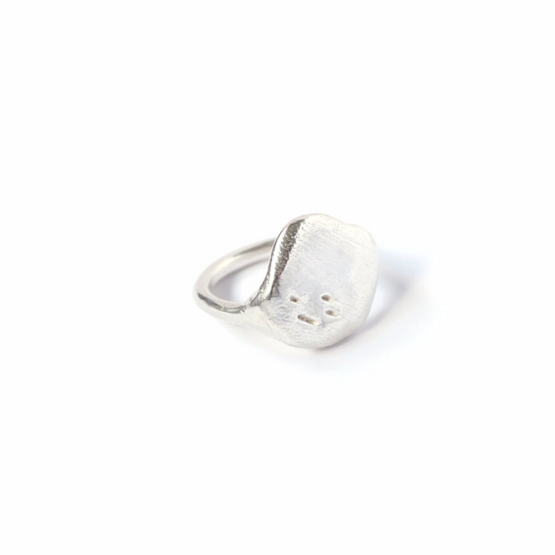 Loyal Ring, Sterling Silver