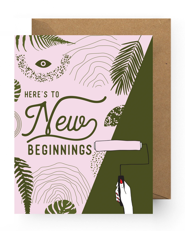 BD Greeting Cards, New Beginnings