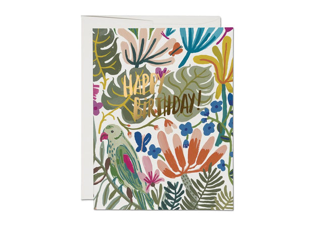 RC Card, Tropical Jungle Birthday