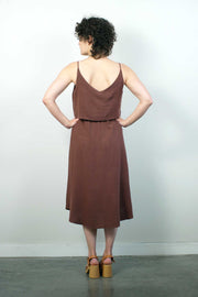 Savane Dress, Amaretto