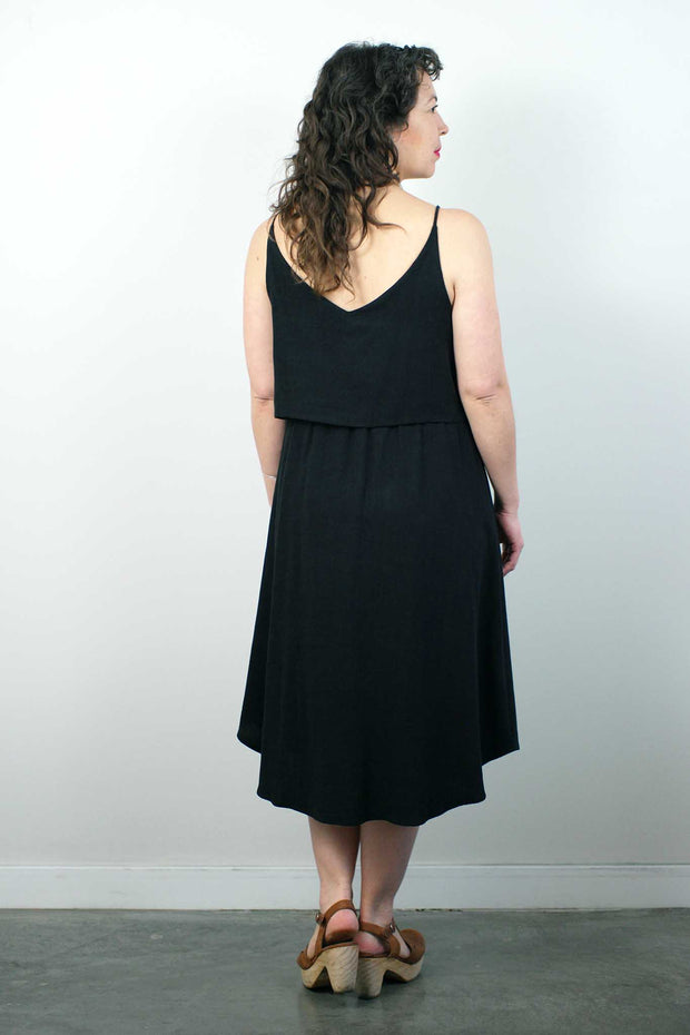 Savane Dress, Black