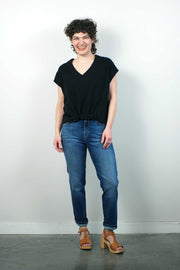 Mandrill Top, Black