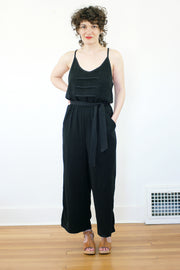 Oryx Jumpsuit, Black