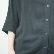 Interstellar Blouse, Black