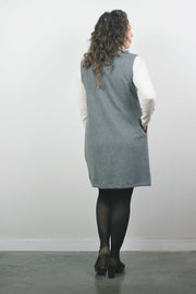 Knit Dress, Heather Grey
