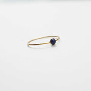 Micro Dot Ring, Lapis
