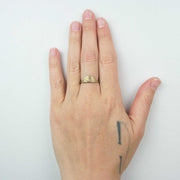 *Dot Dot Dash Ring, Brass