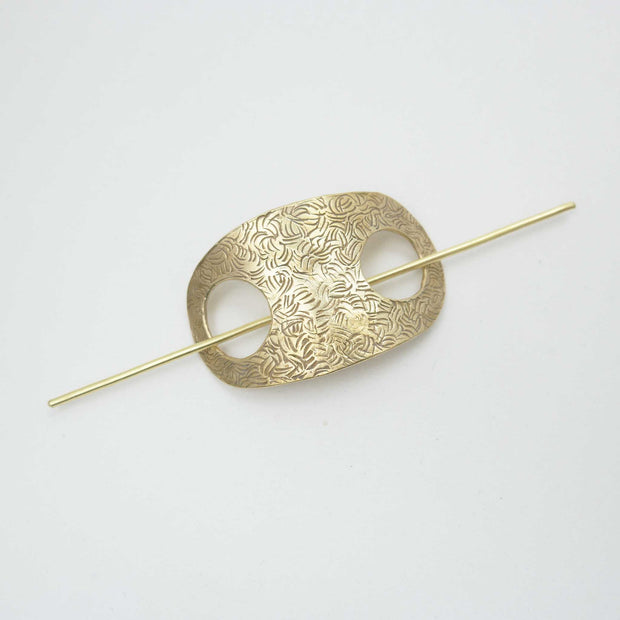 Hair Slide, Brass