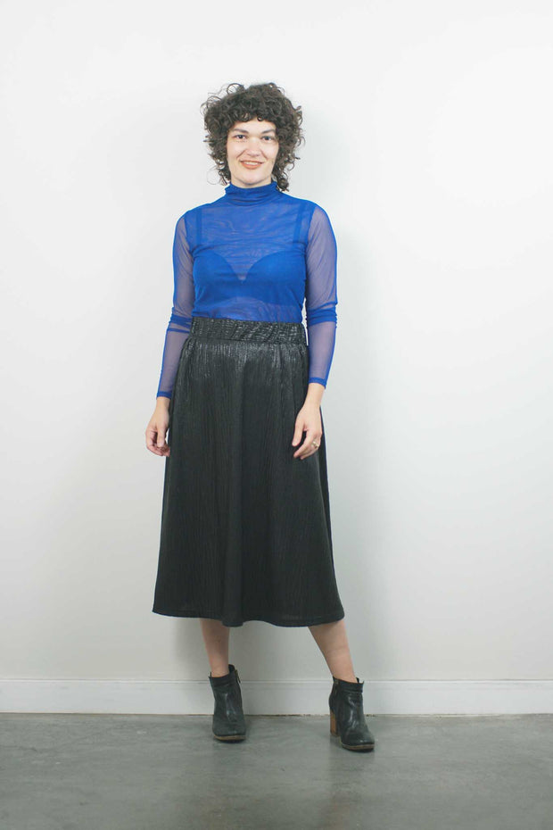 Captain Skirt, Black