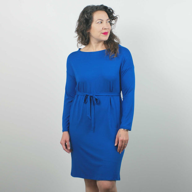 Mae Dress, Prussian Blue