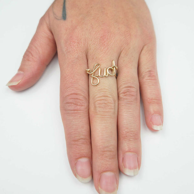 *Not Your Mamas Ring, Goldfill