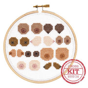 Cross Stitch Kit, Boob Crew