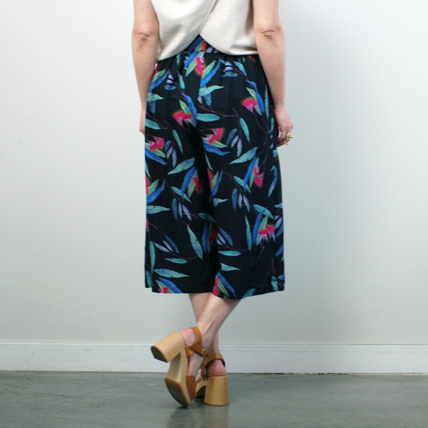 Soufflot Culottes, Black Tropical