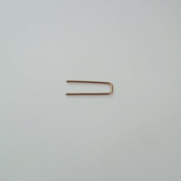 Simple Staple Earring