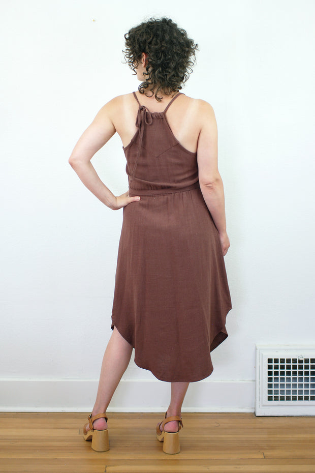 Sahara Dress, Amaretto