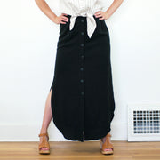 Vipère Skirt, Black
