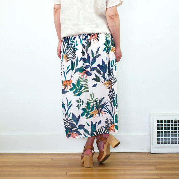 Christina Skirt, Tiger Print