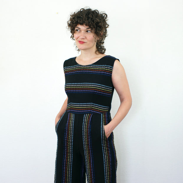 Crystal Jumpsuit, Stripes